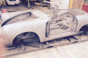 DSD Motorwerks Porsche 356 acid dipping restoration Essex 1